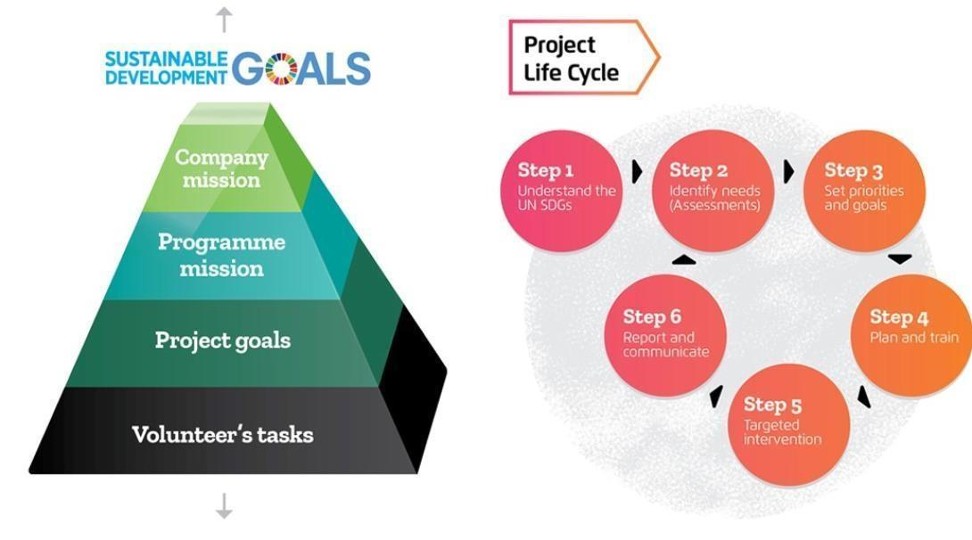 Management Plans with clear goals help to structure the work of the volunteers at Projects Abroad